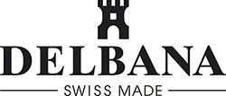Logo švýcarských hodinek delbana