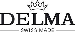 Logo švýcarských hodinek delma